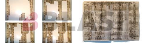 Durant el procés de restauració del manuscrit i el resultat final