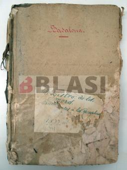 Llibre de registre de mossos