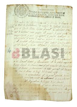 Restauració d'estrips i llacunes en manuscrits d'arxiu