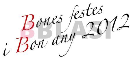 Bones festes i bon any 2012!