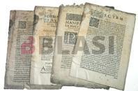 Impresos abans de la restauració