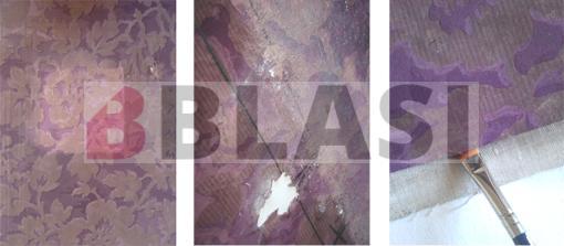 Els papers pintats durant la restauració