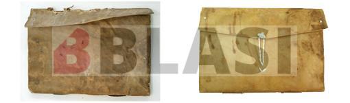Abans i després de la restauració del Llibre de Delfià de l'Arxiu Comarcal de l'Alt Empordà