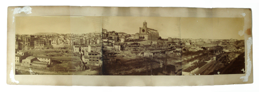 Fotografia de Manresa abans de la restauració