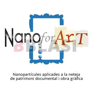 Nano for Art. Nanopartícules aplicades a la netaja de patrimoni documental i obra gràfica