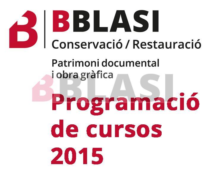 BBlasi - Programació de cursos 2015
