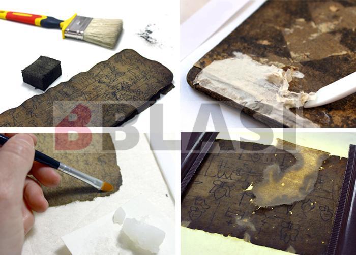 Procés de restauració dels llibres Naxi per al Museu de Cultures del Món