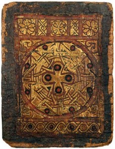 Coptic Binding Detached from: The Gospels, in Coptic