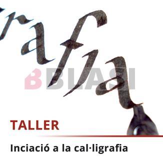 Curs iniciació a la cal·ligrafia