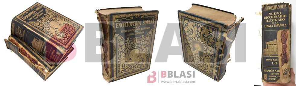 Diccionario enciclopedia Sopena abans de la restauració
