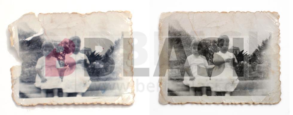 Restauració d'una fotografia