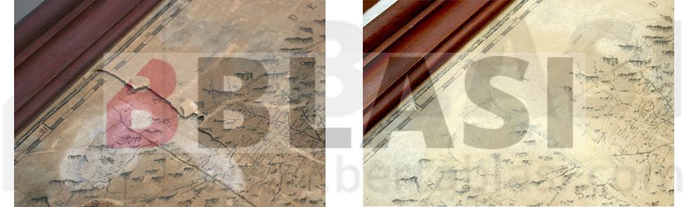 Taller BBlasi - Detalls restauració mapa 1