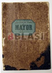 Llibre registre abans de la restauració