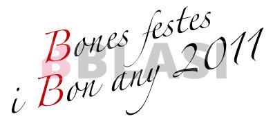 Bones festes i bon any 2011