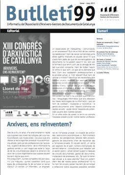 Article sobre conservació d'enquadernacions al Butlletí99 de l'AAC