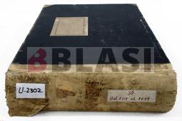 Restauració d'un llibre de registre fiscal