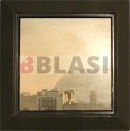 Un dels marcs de l'exposició retrospectiva de Josep i Pere Santilari
