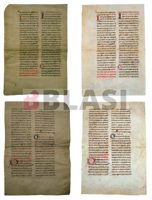 Pergamí abans i després de la restauració