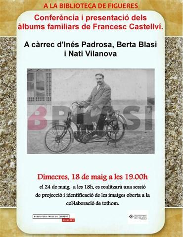 Presentació i conferència de la col·lecció de fotografies de Francesc Castellví