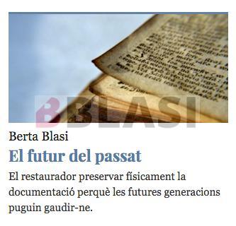 El futur del passat. Dia Internacional dels Arxius