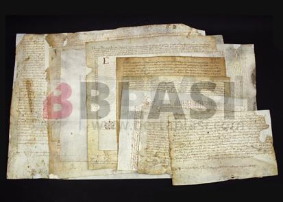Pergamins restaurats per a l'Arxiu Comarcal del Baix Llobregat