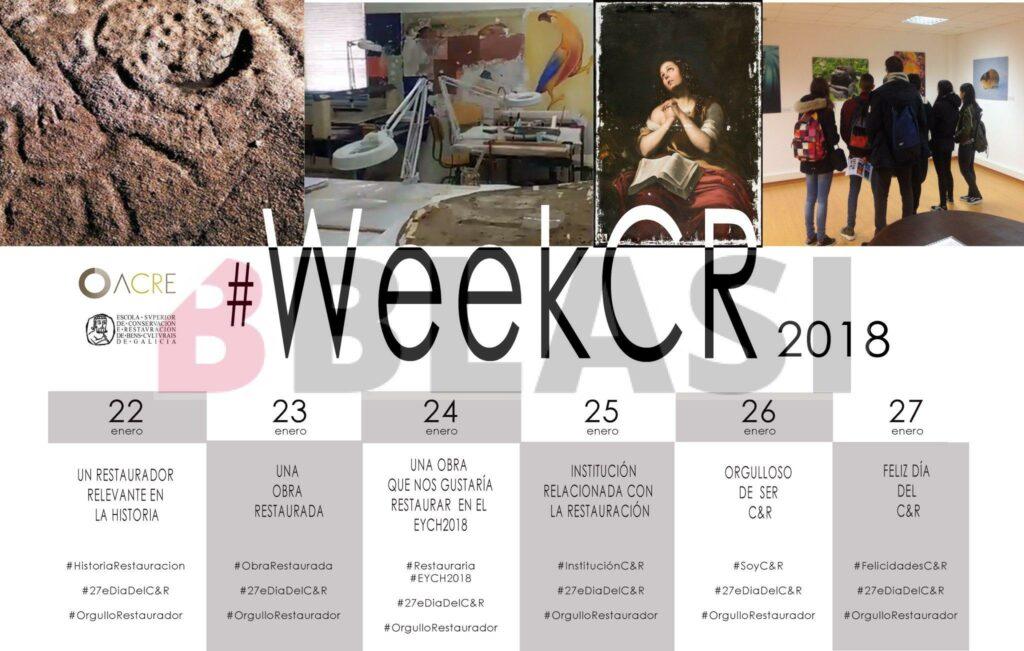 #weekCR Setmana de la conservació restauració