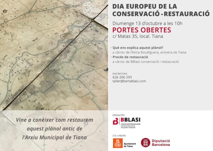 Dia Europeu de la Conservació i la Restauració 2019