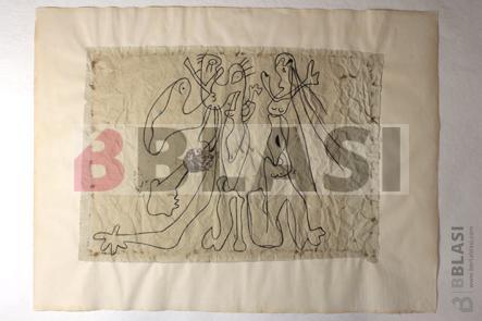 Collage de Joan Miró després de la restauració