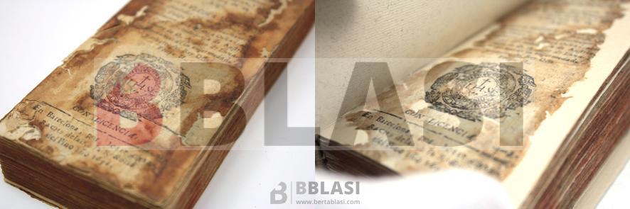 Consolidació de llacunes de la portada del llibre Agora de nuevo recopilados los mejores romances de los tres libros de Sylva y añadidos los de la Liga