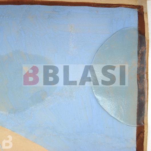 Aplicació de lipases en gel per eliminar taques greixoses