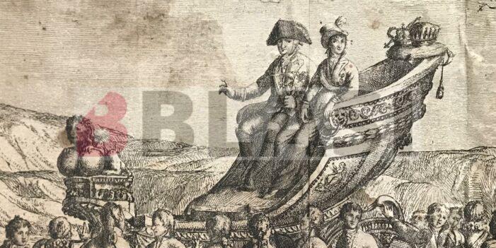 Restauració de l'Entrada de SS. MM. CS. Carlos IV y Maria Luisa en Barcelona la tarde del once de septiembre de 1802